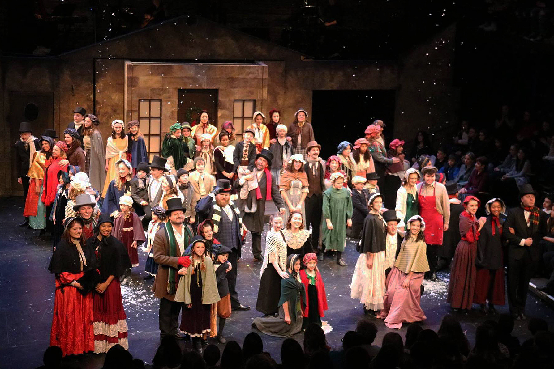 A Lyrical Christmas Carol at the New Hazlett Theater