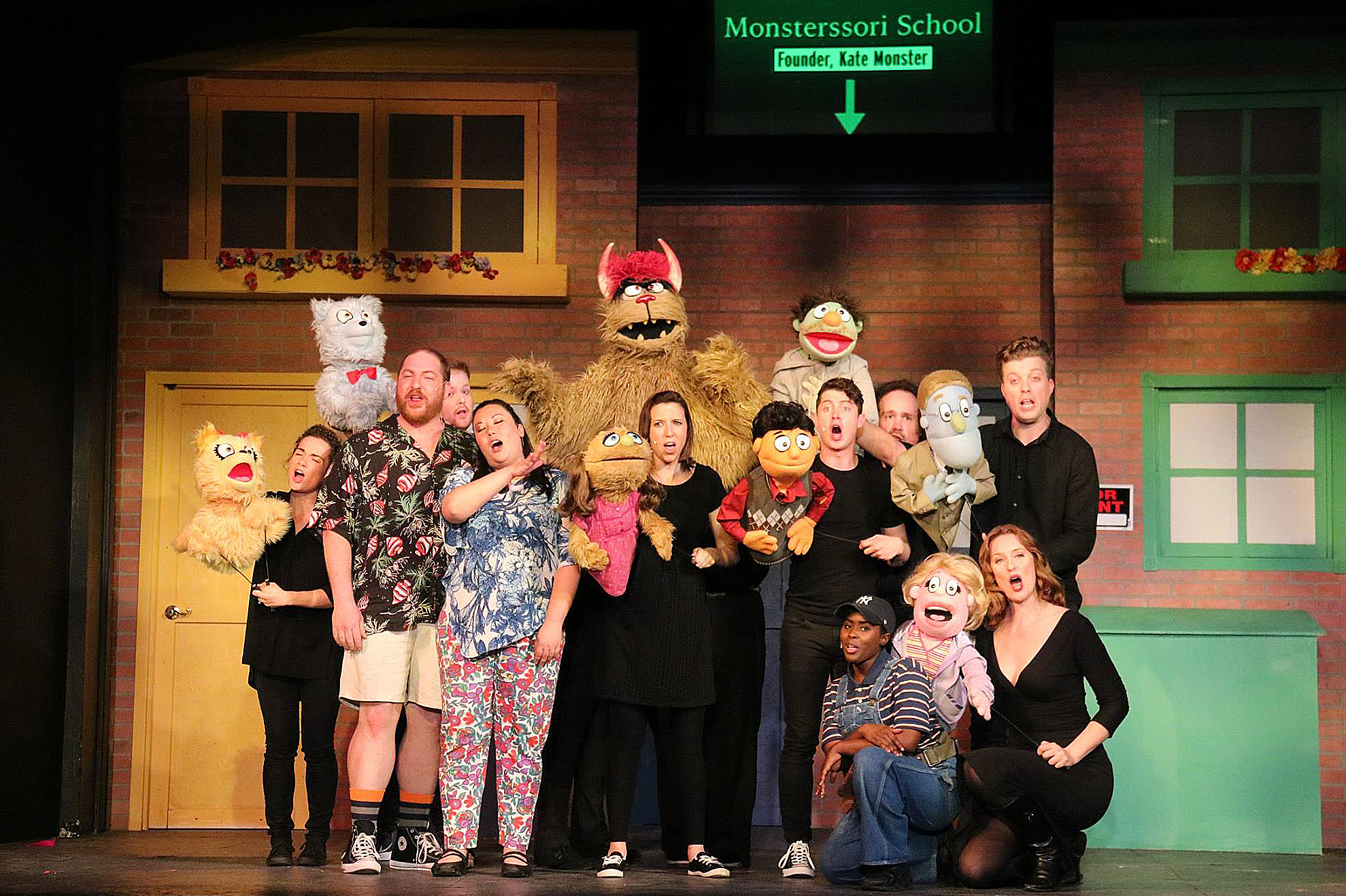 Avenue Q at the Gargaro Theater